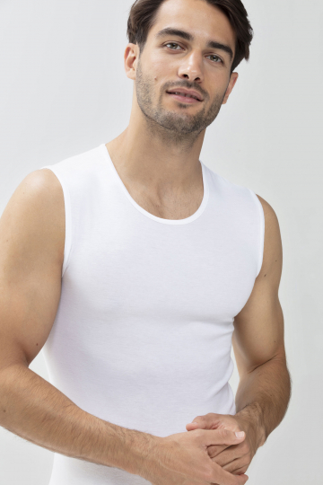Frontansicht Muskel-Shirt Serie Casual Cotton 49001 | Mey Bodywear