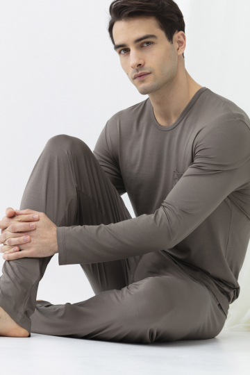 Langarm-Shirt Frontansicht | mey®