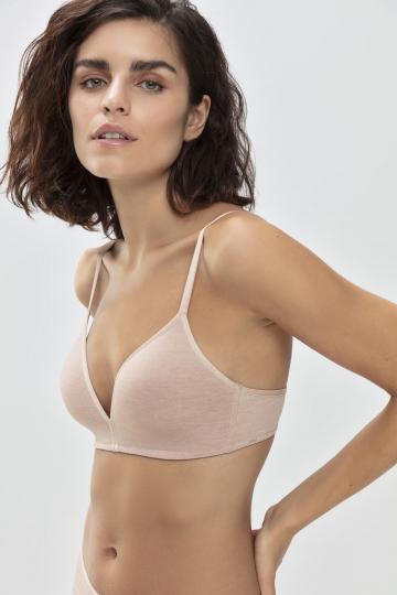 Frontansicht Bi-Stretch-BH | Ohne Bügel Serie Easy Cotton 74362 | Mey Bodywear