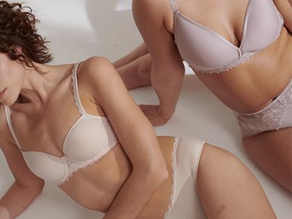 Ausgewählte Wäsche in der Trendfarbe Nude | mey®