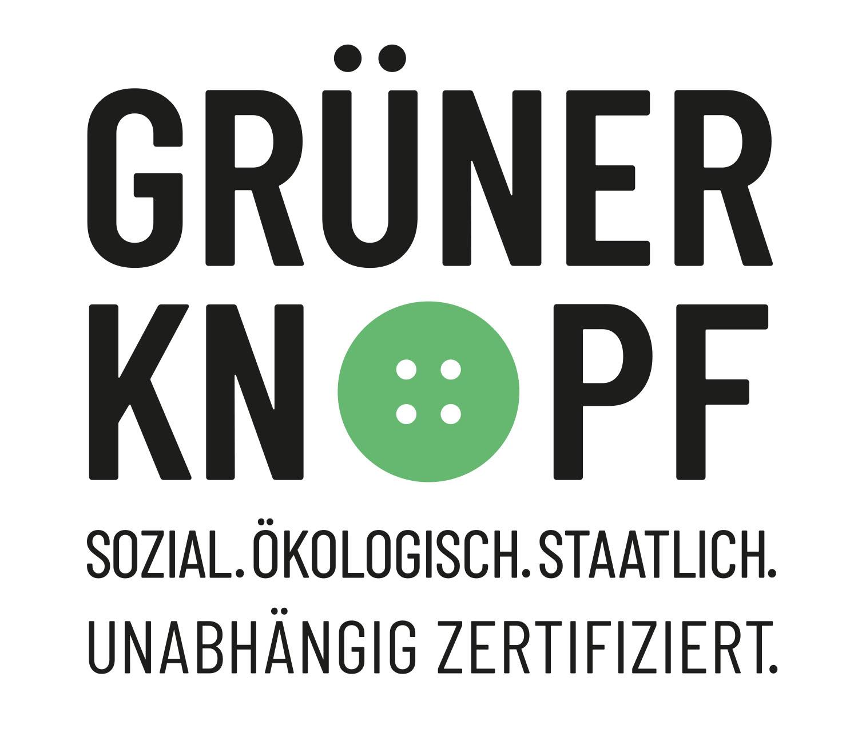 Siegel der Zertifizierung mit dem grünen Knopf   mey®