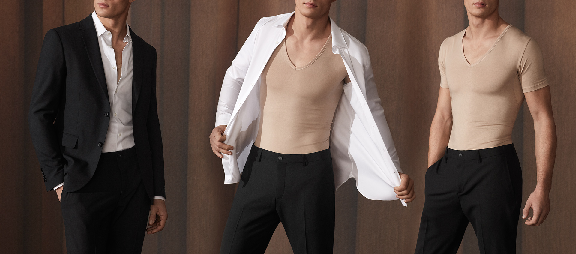 The undershirt by mey is specially designed for the discerning requirements of businessmen | mey®