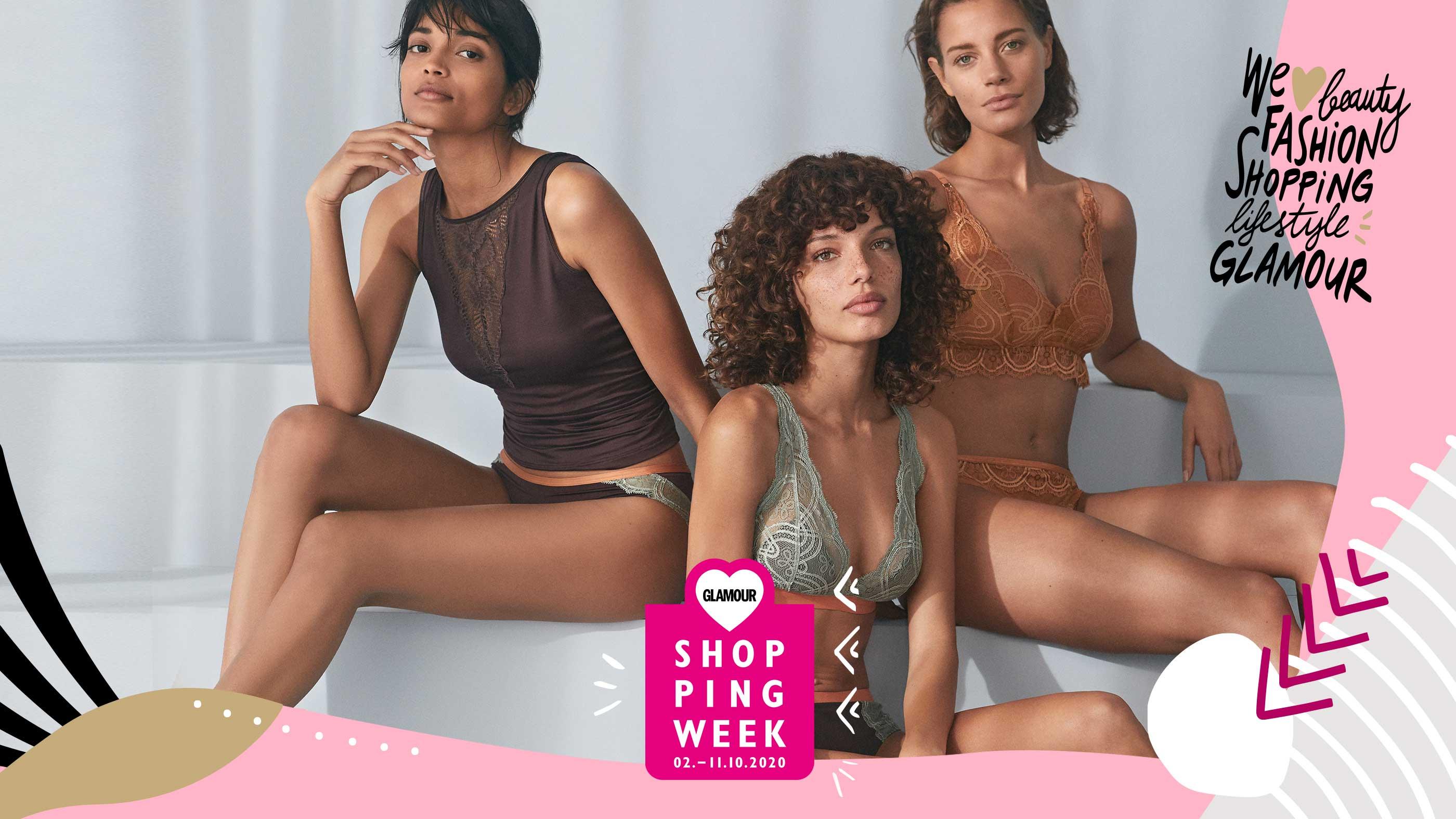 Mey nimmt an der GLAMOUR Shopping Week 2020 teil