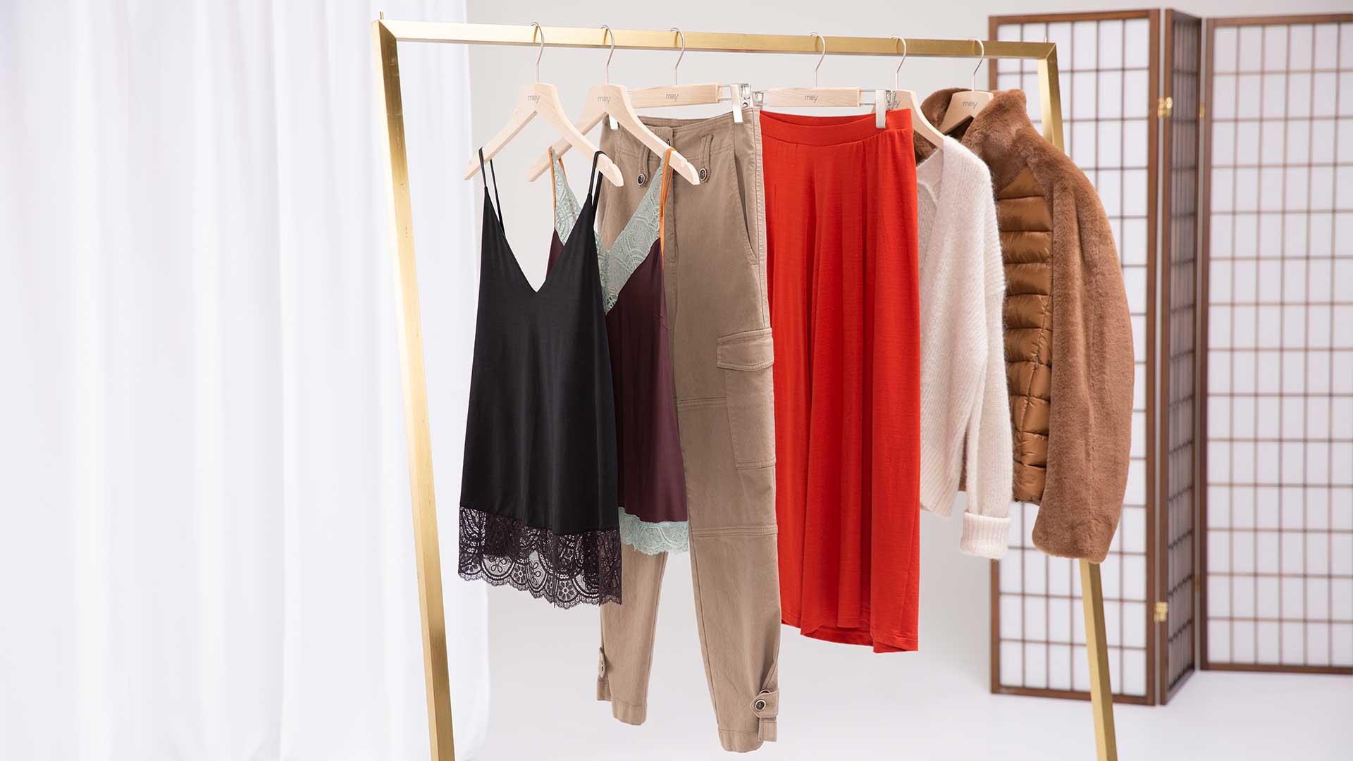 Wäsche von mey alltagstauglich kombiniert: mey x Luisa Cerano