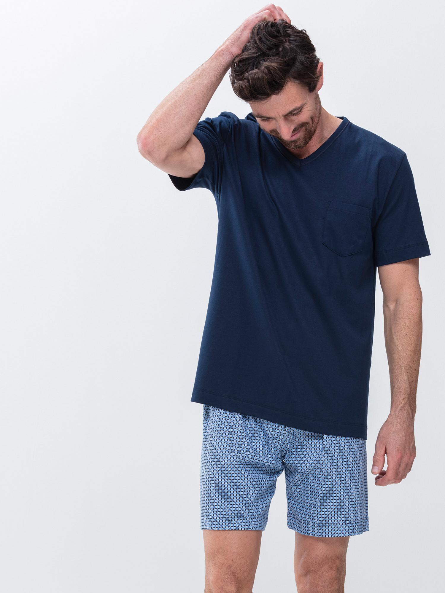 Kurze Herren Pyjamas von mey   mey®