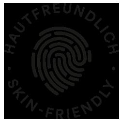 Mey® Icon für Hautfreundlichkeit mit Fingerabdruck