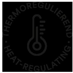Mey® Icon für thermoregulierend, Thermometer mit Temperatur-Skala