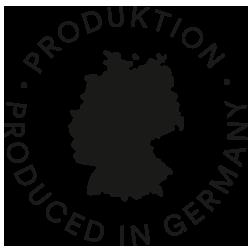 Icon für Made in Germany, Deutschlandkarte in schwarz | mey®