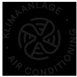 Mey® Icon für Klimaanlage, Propeller mit Luftströmung