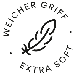 Icon for soft touch: feather | mey®