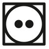 Symbol, Trockner bei normaler Temperatur verwendbar