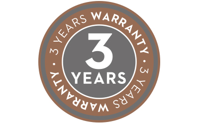 Icon 3 years warranty von mey®