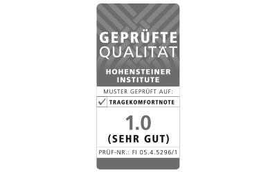 Icon Tragekomfort Hohensteiner Institute Zertifizierungs-Siegel für Mey®