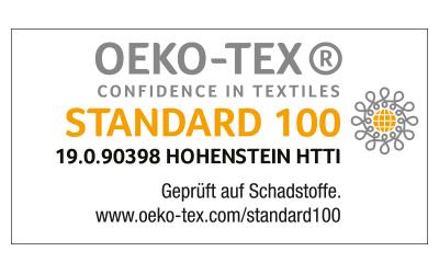Icon: STANDARD 100 by OEKO-TEX® certification seal | mey®