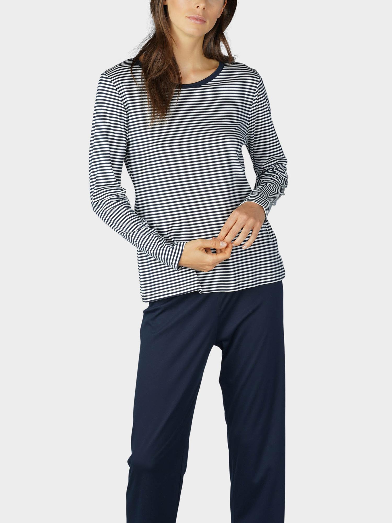 Gestreifter Pyjama für Damen | mey®