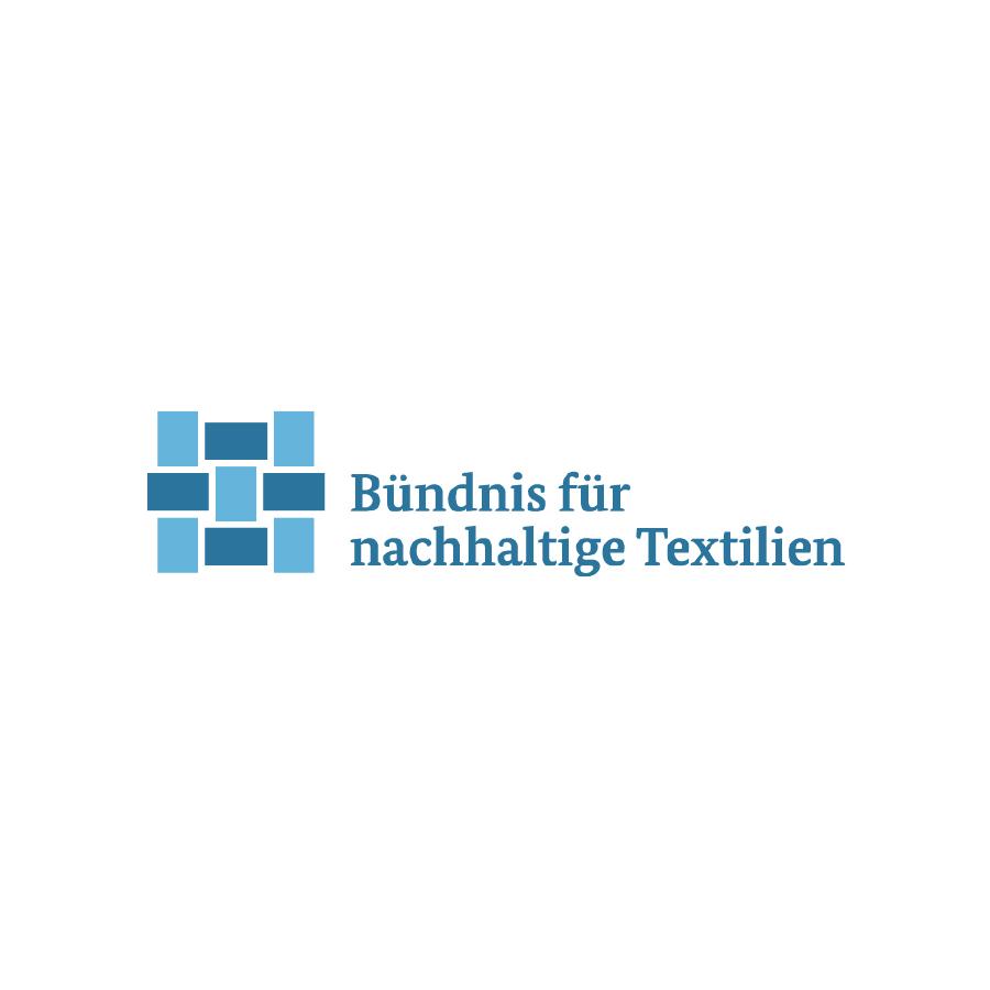 Logo des Bündnis für nachhaltige Textilien | mey®