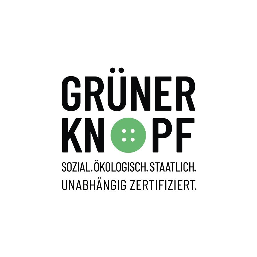 Siegel der Zertifizierung mit dem grünen Knopf | mey®