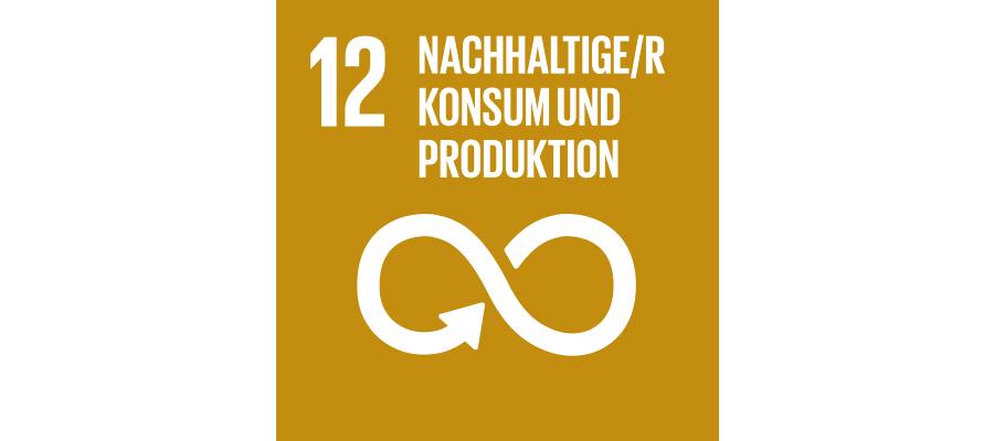 Icon SDG Nr. 12 nachhaltiger Konsum und Produktion | mey®