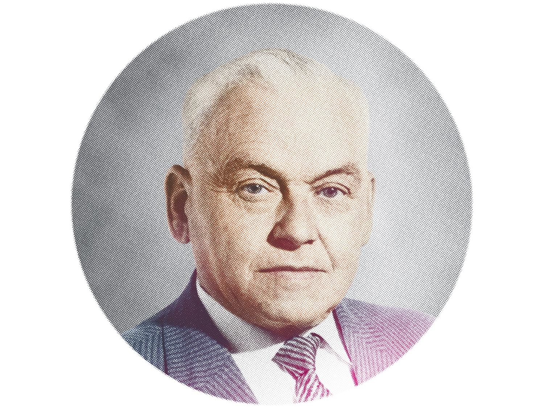 mey® Gründer Portrait von Franz Mey