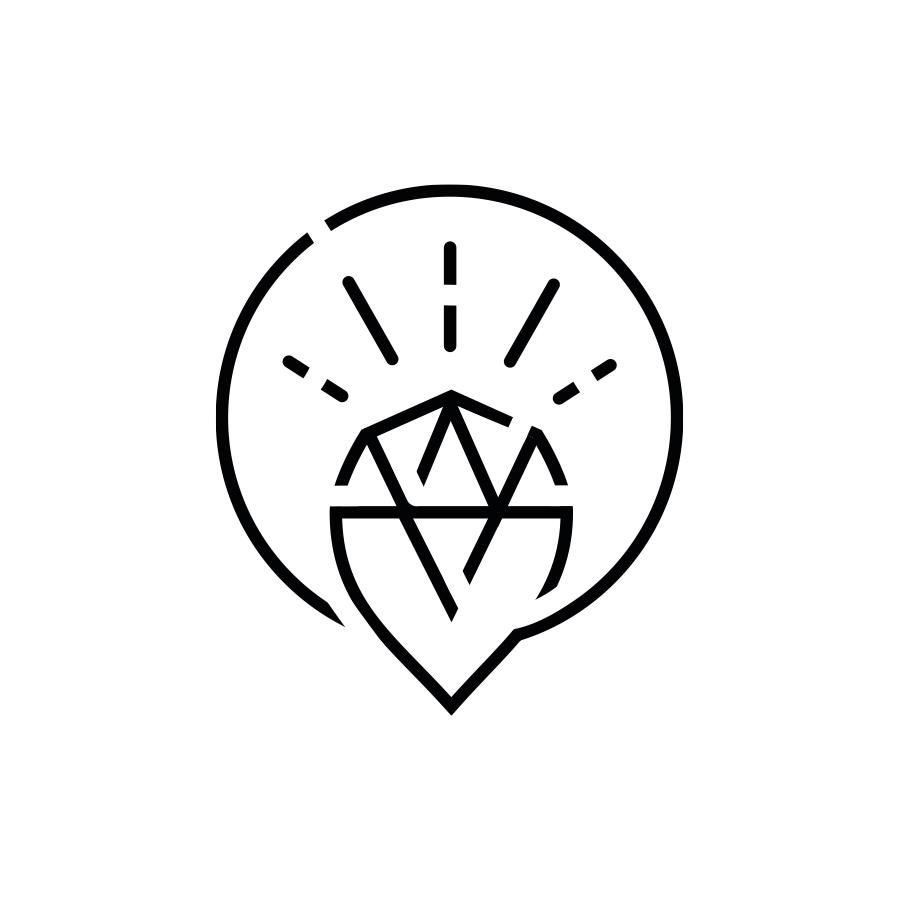 mey® Icon Leitbild Werte, strahlender Diamant