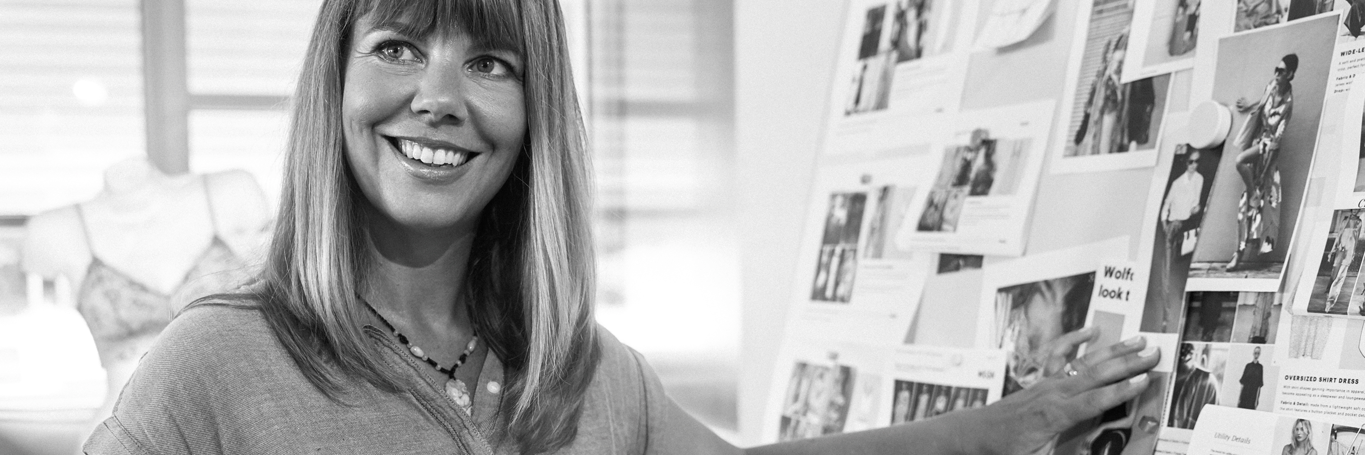 employee Claudia Wigge at the design department   mey®