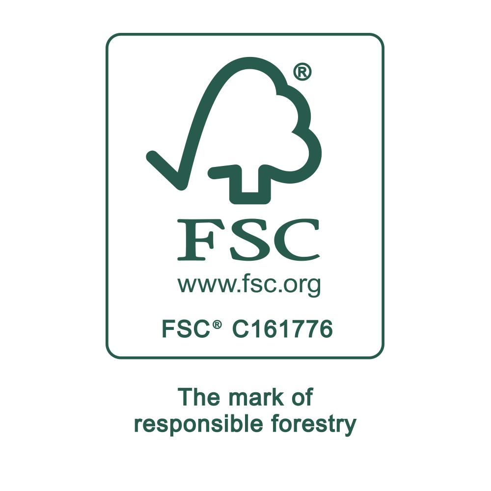 Certification seal of FSC®   mey®