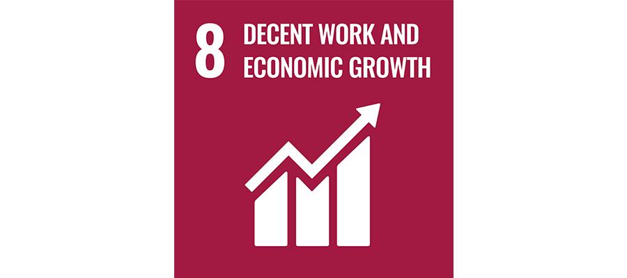 SDG No 8 decent work an economic growth   mey®