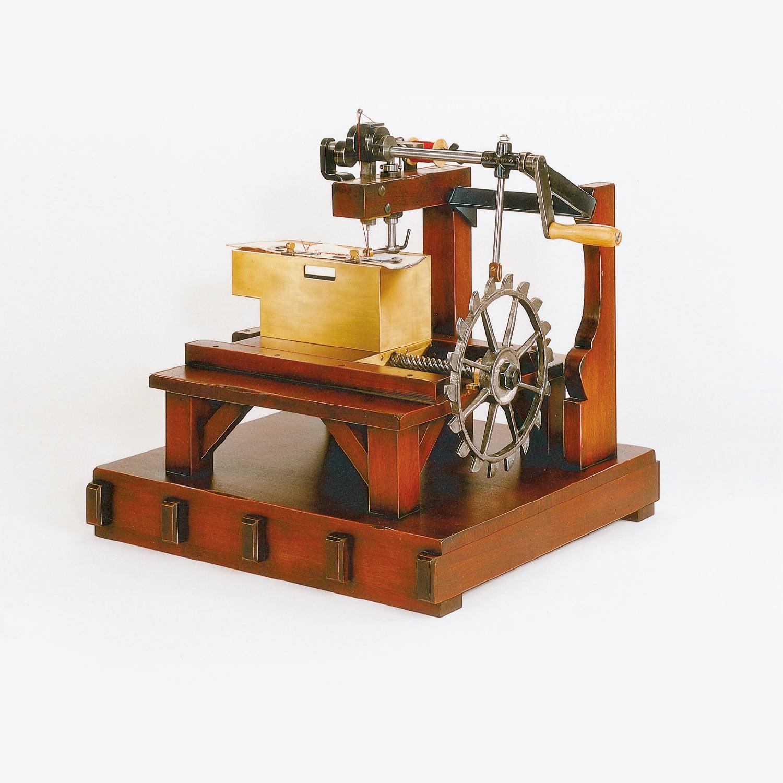 Nähmaschine Thomas Saint, rekonstruiert | mey®