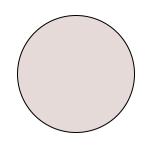 Mey® Serie 2000 Farbe Nude, runde Farbfläche
