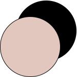 mey® Serie Superfine Organic, runde Farbfläche Bailey und Schwarz | mey®