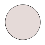 Serie Triniti, runde Farbfläche nude | mey®