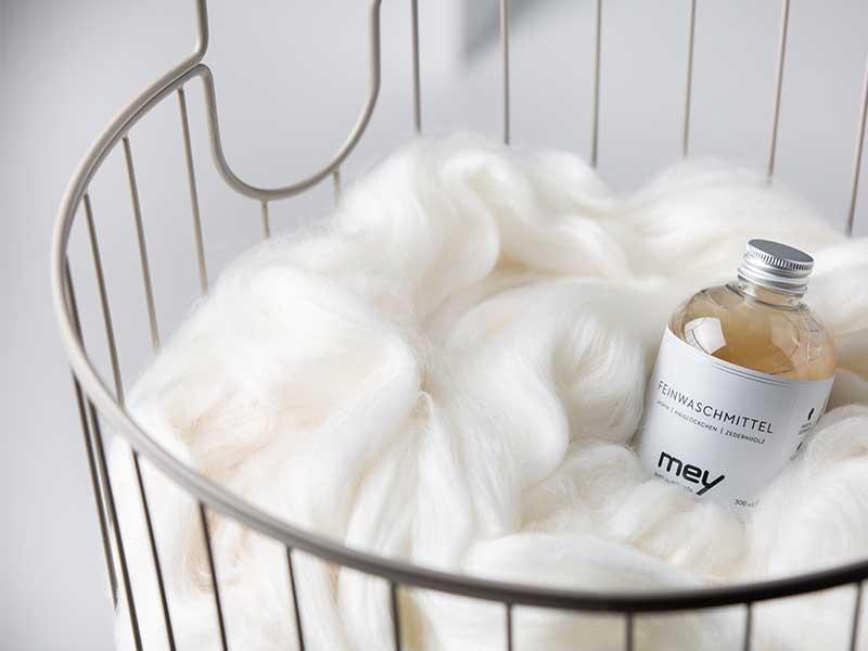 Wolle richtig waschen | mey®