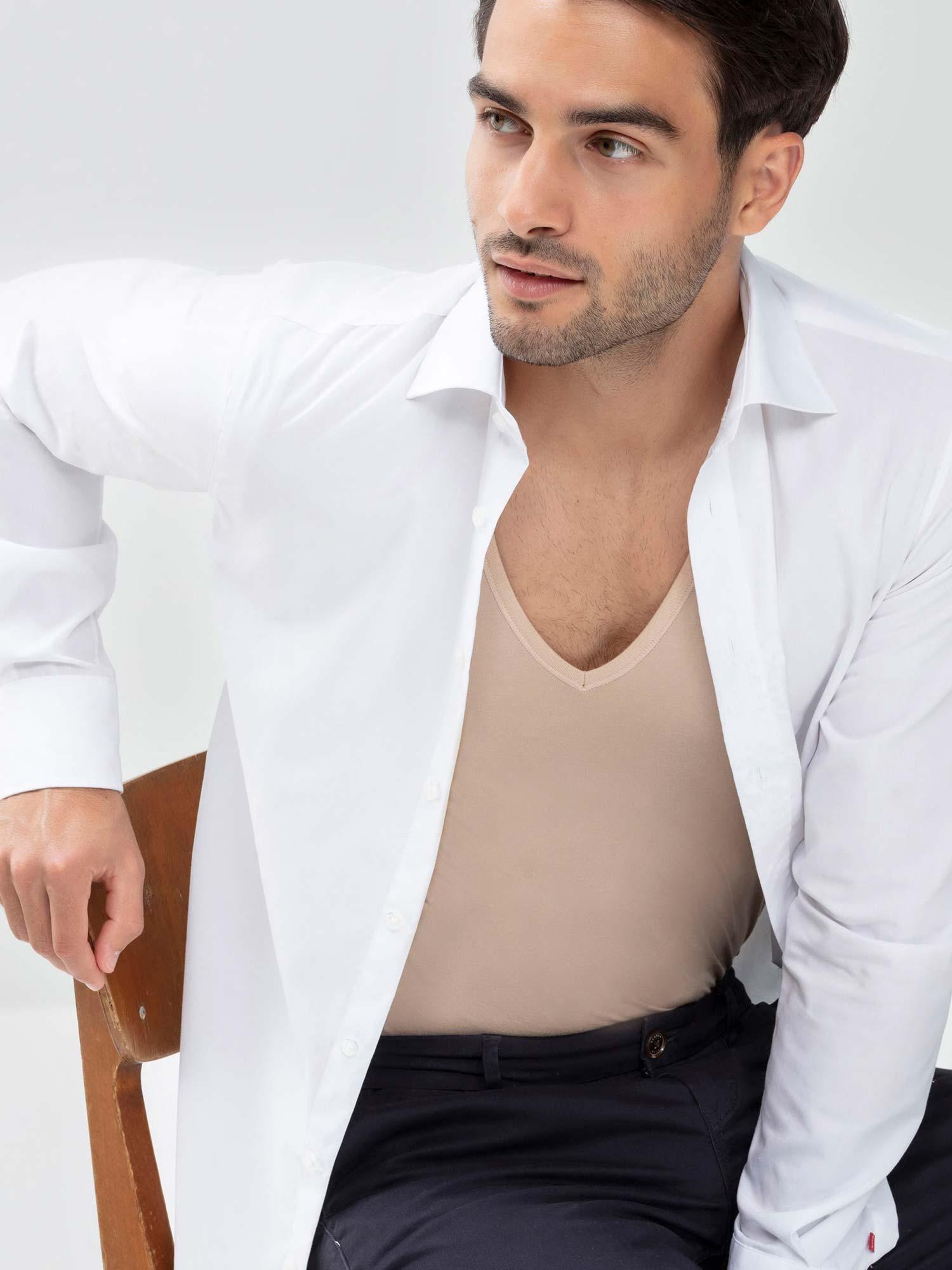 Das richtige Unterhemd für den Bräutigam | mey®