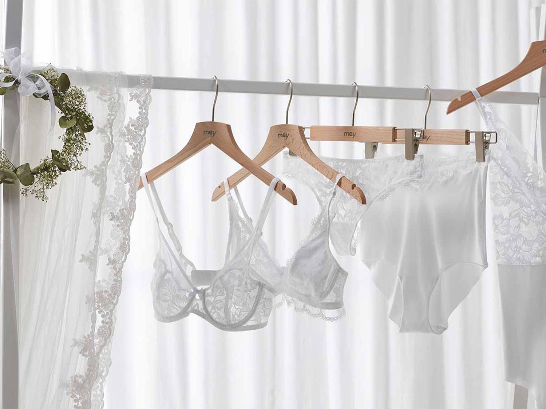 Was tragen Braut und Bräutigam drunter? | mey®