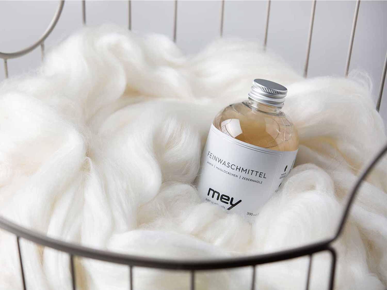 Wie wasche ich Wolle richitg | mey®