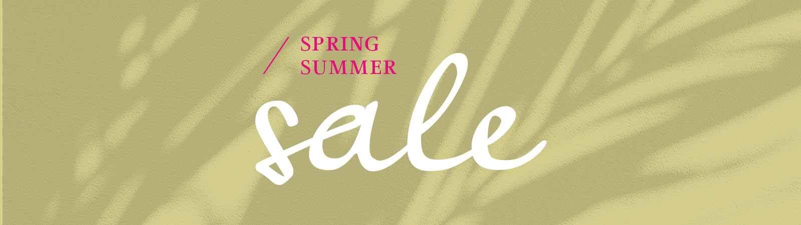 Spring / Summer Sale